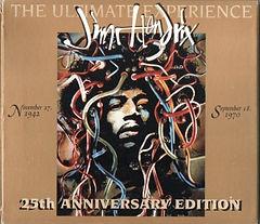 jimi hendrix cd collector/ 25th anniversary edition the ultimate experience  australia