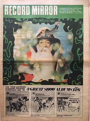 jimi hendrix newspapers/record mirror 23/12/1967