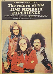 jimi hendrix collector newspaper/top pops newspaper/ january/1969 england