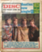 jimi hendrix collector newspaper/disc music echo 11/11/67