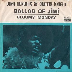 jimi hendrix singles vinyls/ballad of jimi