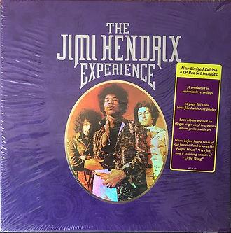 jimi hendrix family edition  /  box 8lp  the jimi hendrix experience