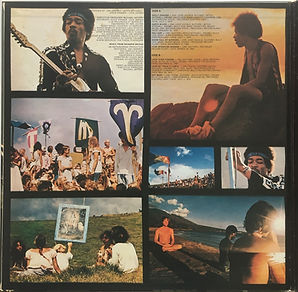 jimi hendrix album vinyls/lps/ rainbow bridge 1971 japan