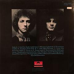 jimi hendrix rotily vinyls collector/part 2 england 1973