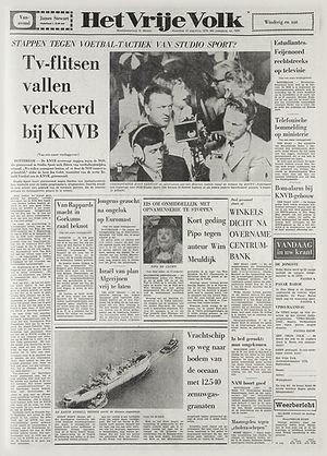 jimi hendrix newspapers 1970 / het vrije volk / wight 1970