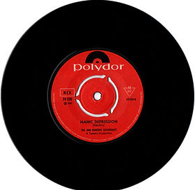 jimi hendrix vinyl single/manic depression side 2