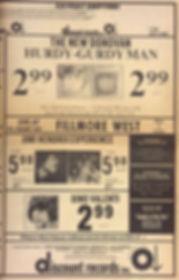 jimi hendrix newspaper/berkeley barb october 4-10 1968