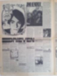 jimi rotily collector newspaper/hit week part1 jimi hendrix 23/3/1967
