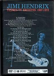 jimi hendrix rotily dvd/archives