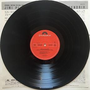 jimi hendrix vinyls collector/ side 1 : jimi plays monterey   / japan