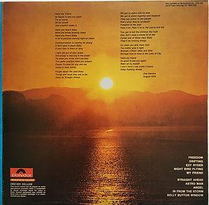 jimi hendrix vinyl album reissue / cry of love double back 1980