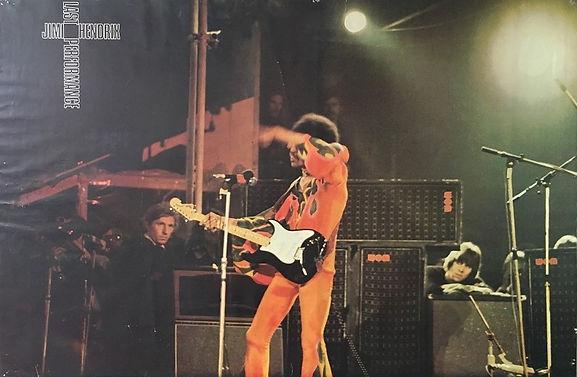 jimi hendrix posters/last performance 1972 holland
