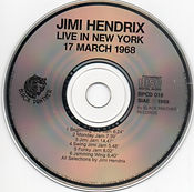 live in new york/jimi hendrix cd bootlegs black panther