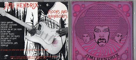 jimi hendrix bootlegs cds 1969/moons and rainbows