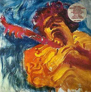 jimi hendrix vinyls album / the jimi hendrix concerts cbs records