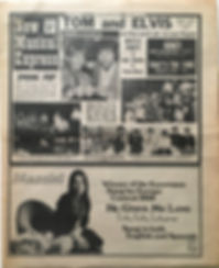 jimi hendrix newspapers/new musical express 20/4/1968