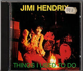 jimi hendrix rotily CD/ Things I used to do