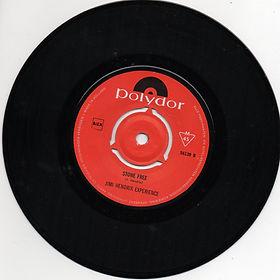 hendrix rotily vinyl/ stone free holland 1967