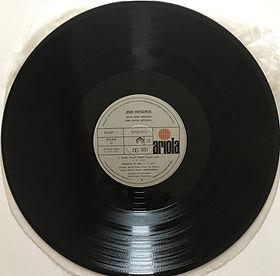 jimi hendrix album vinyls/experience side 2/ spanish  1971 single cover