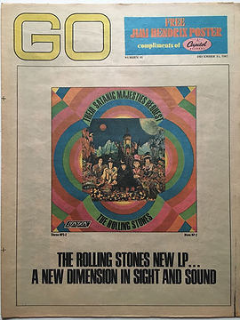 jimi hendrix newspaper/go newspaper 15/12/1967
