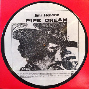 jimi hendrix collector lp picture disc bootlegs/pipe dream