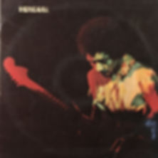 jimi hendrix rotily vinyls collector/band of gypsys italy 1970