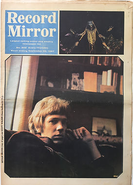 jimi hendrix collector newspapers/record mirror 30/9/1967 noel redding/how to become an experience