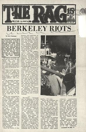 jimi hendrix newspaper/ the rag   july 11 1968