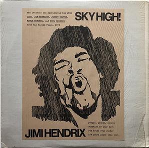 jimi hendrix bootlegs vinyl/sky high