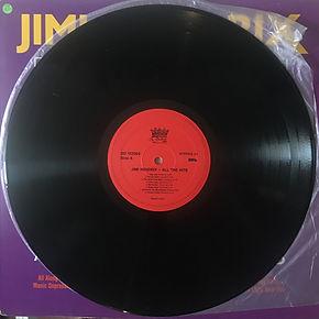 jimi hendrix vinyls LP collector / all the hits 1989