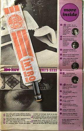 jimi hendrix collector magazine/intro 30/9/1967