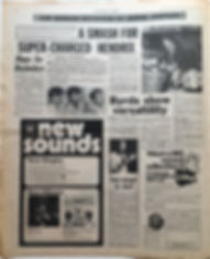 jimi hendrix newspaper 1968/new musical express october 19 1968/review : all along the watchtower