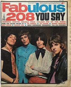 jimi hendrix newspapers/fabulous 23/12/1967
