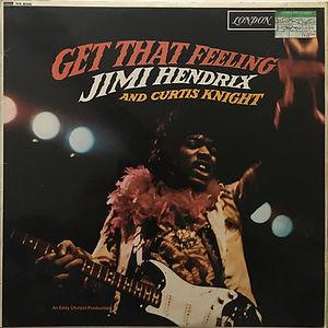 jimi hendrix vinyl lp album/get that feeling 1968