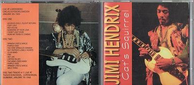 jimi hendrix cd bootlegs/cat's squirrel