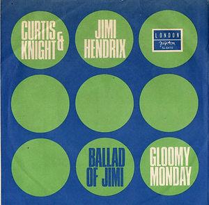 jimi hendrix colector vinyls singles/ballad of jimi yugoslavia/london