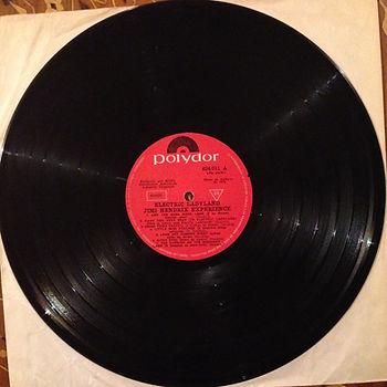 jimi hendrix vinyl album/ electric ladyland   uruguay