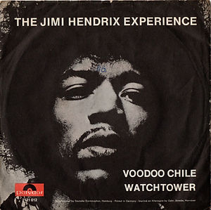 jimi hendrix collector vinyls singles/voodoo chile/all along the watchtower/11/1970 germamy