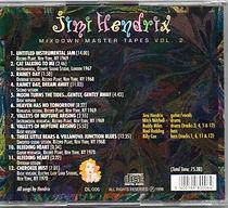 jimi hendrix box cds/vol2 mixdown master tapes 1997