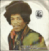 jimi hendrix /EP vinyls 45r/EP burning of the midnight lamp/iran  1973