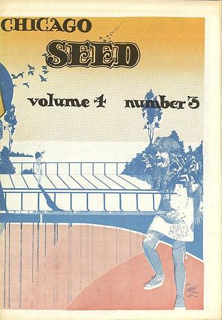 jimi hendrix newspaper  1969/chicago seed july 1969 volume 4 number 3