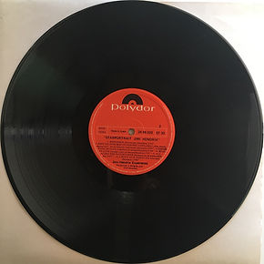 jimi hendrix collector vinyls/ disc 2 side 2  / starportrait  1971 spanish