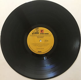 jimi hendrix vinyls 1973 /sound track recording from the film / side 2