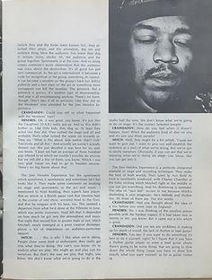 jimi hendrix magazine/crawdady may 1968 jimi hendrix and live things