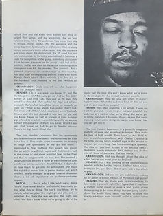 jimi hendrix magazine/crawdady may 1968 jimi hendrix and live things