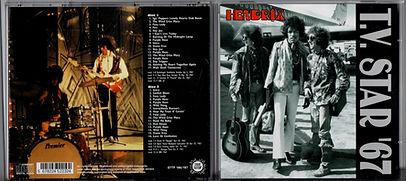 JIMI HENDRIX COLECTOR BOOTLEGS CD/TV. STAR'67