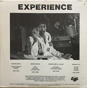 jimi hendrix vinyls bootlegs/star spangled blues 1985