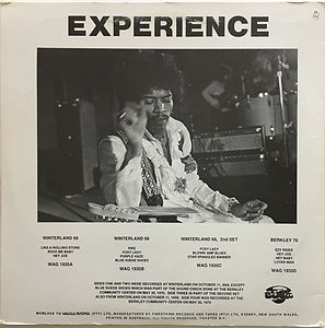 jimi hendrix vinyls bootlegs/star spangled blues 1985