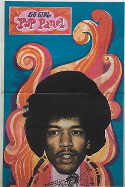 jimi hendrix magazine/go girl  20/1/1967