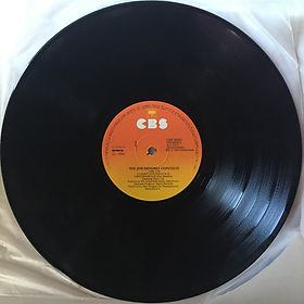 jimi hendrix vinyls album / the jimi hendrix concerts / side 1 / cbs records greece